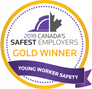 2019 Canada's safest employers young workers award